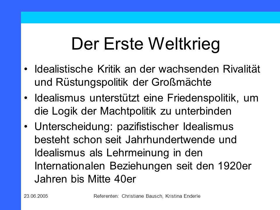 Referenten: Christiane Bausch, Kristina Enderle