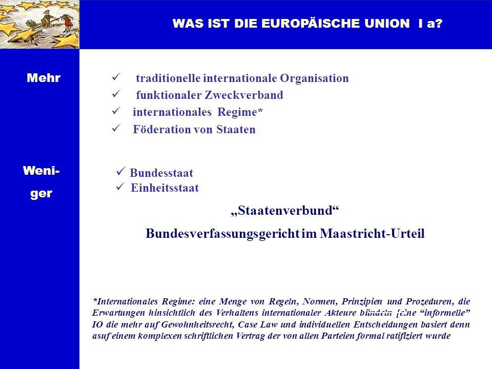Bundesverfassungsgericht im Maastricht-Urteil