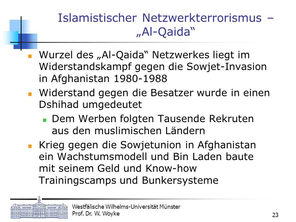 """Islamistischer Netzwerkterrorismus – """"Al-Qaida"""
