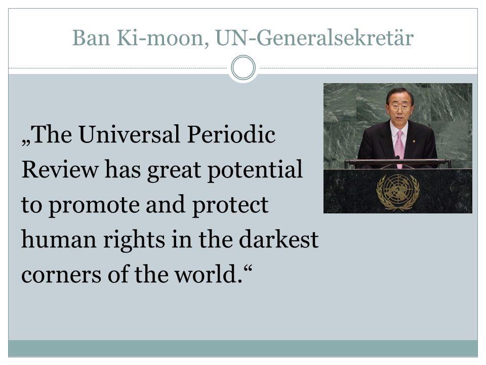 Ban Ki-moon, UN-Generalsekretär