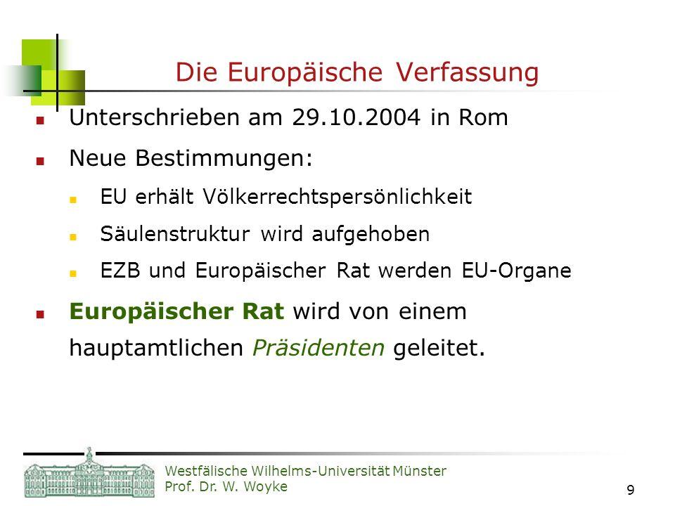 Die Europäische Verfassung