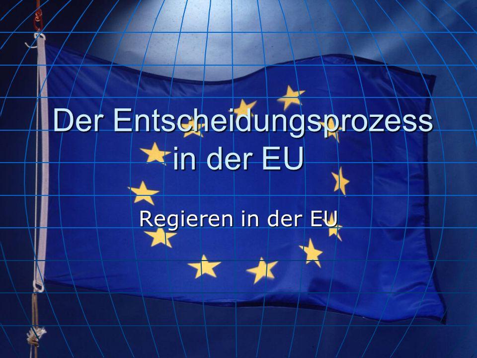 Der Entscheidungsprozess in der EU