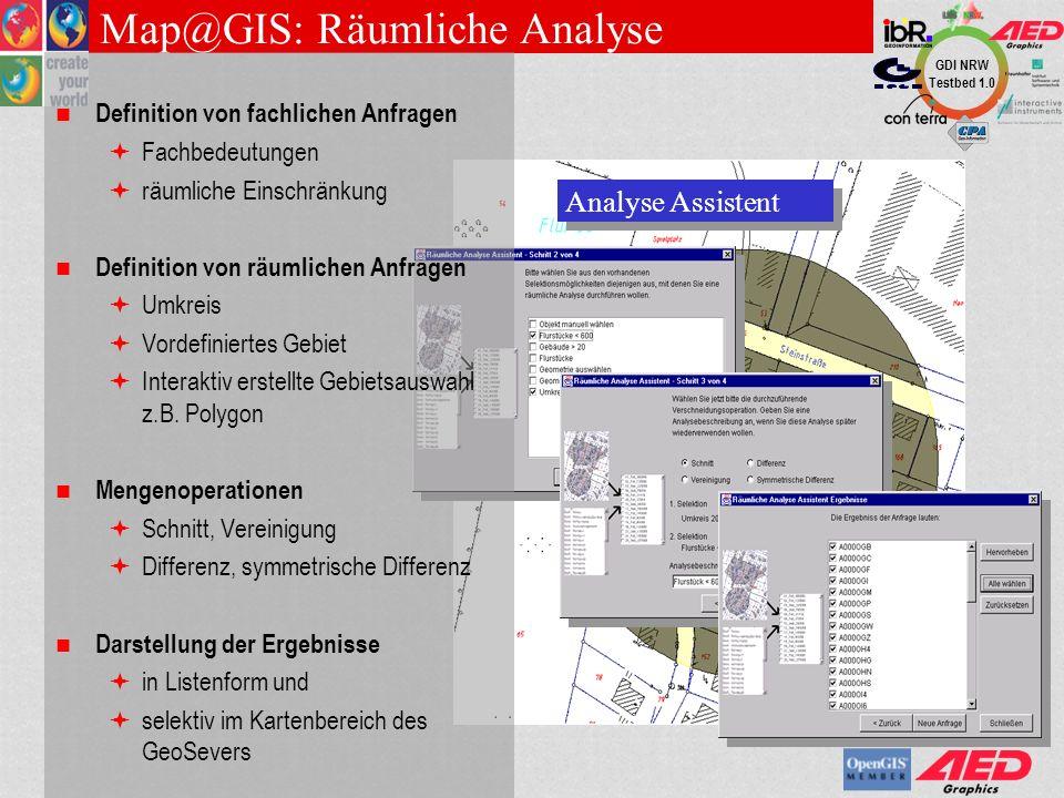 Map@GIS: Räumliche Analyse