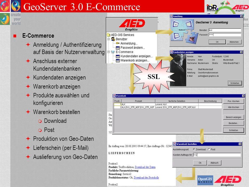 GeoServer 3.0 E-Commerce SSL E-Commerce