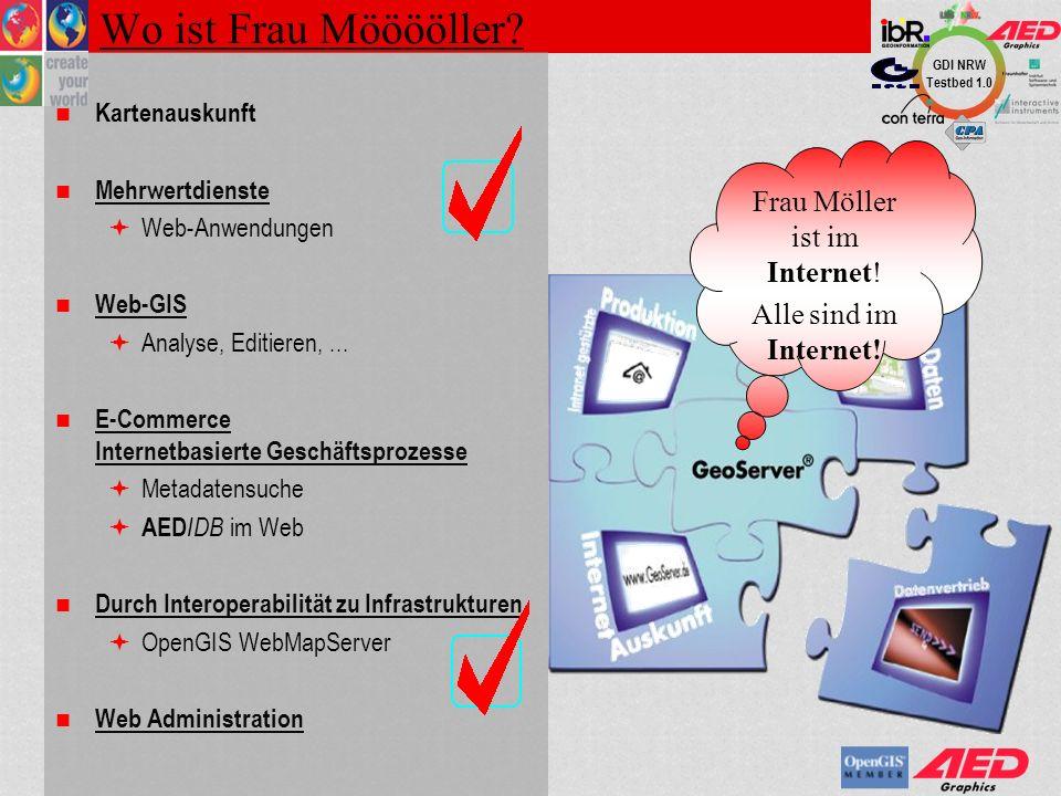 Frau Möller ist im Internet!