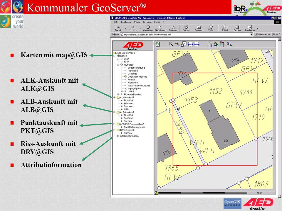 Kommunaler GeoServer®