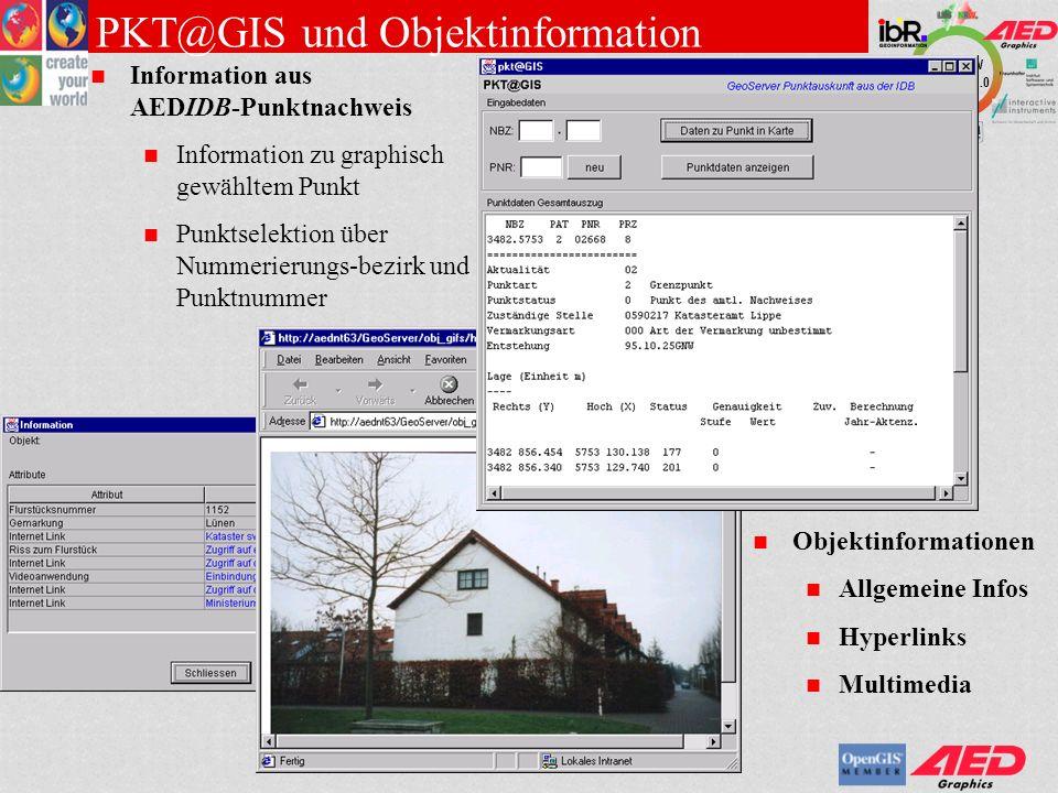 PKT@GIS und Objektinformation