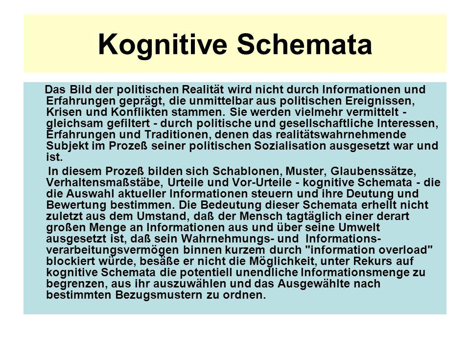 Kognitive Schemata
