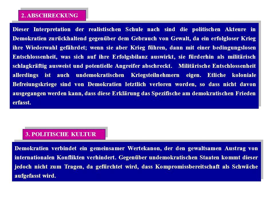 2. ABSCHRECKUNG