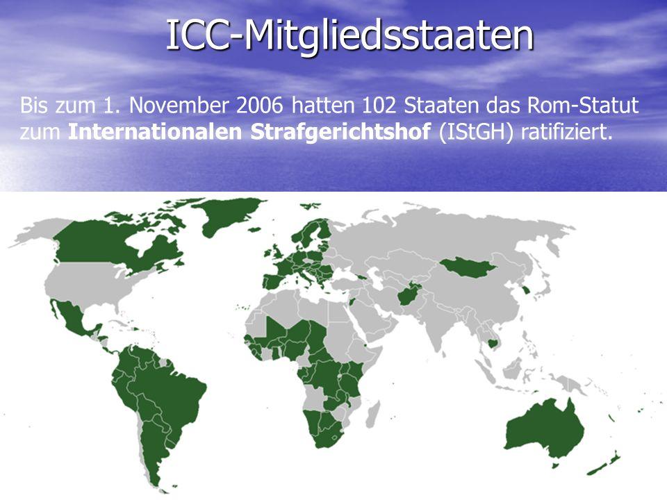 ICC-Mitgliedsstaaten