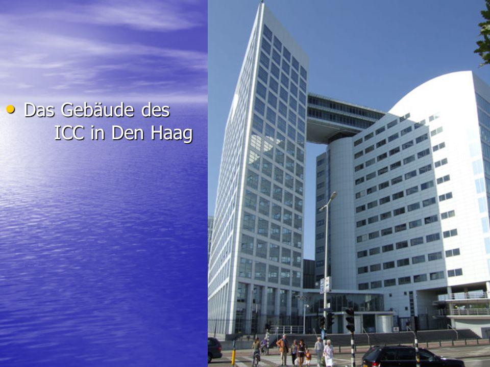 Das Gebäude des ICC in Den Haag