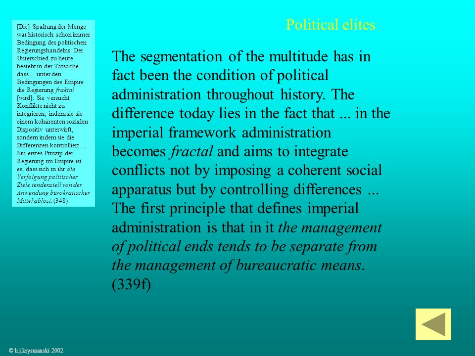 Political elites