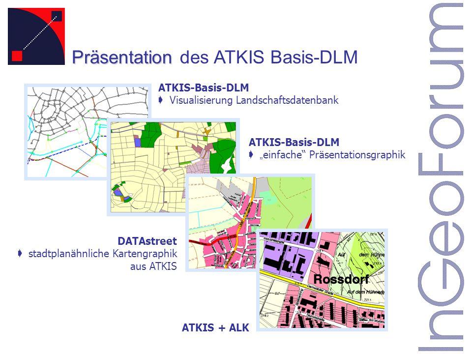 Präsentation des ATKIS Basis-DLM
