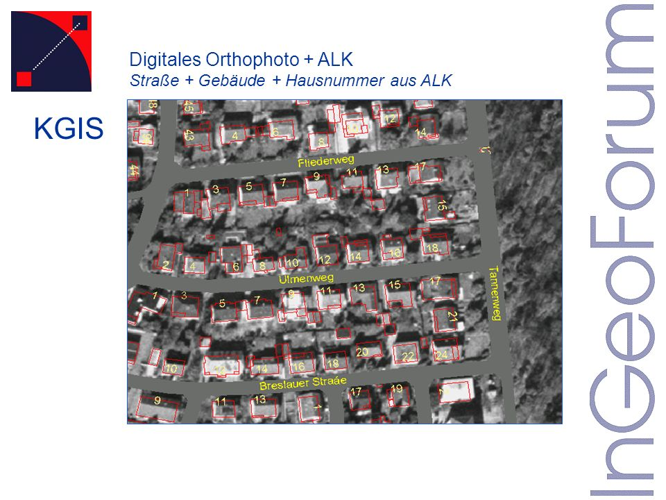 Digitales Orthophoto + ALK
