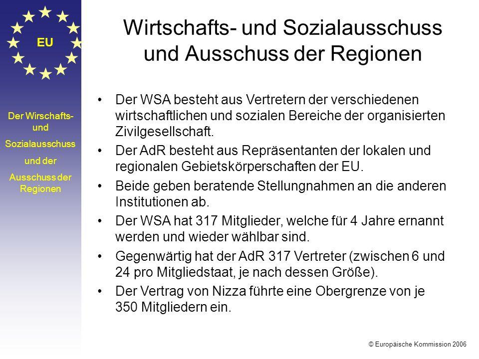 Wirtschafts- und Sozialausschuss und Ausschuss der Regionen