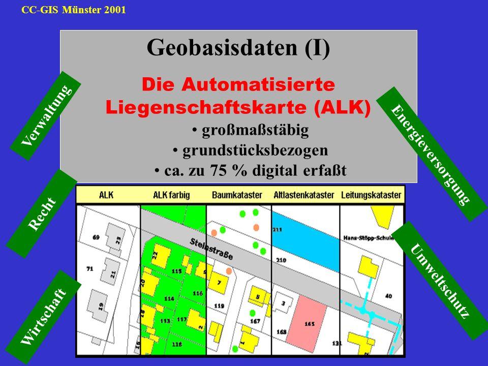 Die Automatisierte Liegenschaftskarte (ALK)
