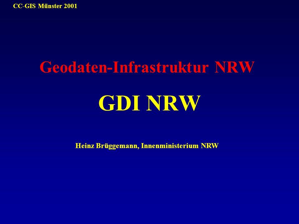 Geodaten-Infrastruktur NRW