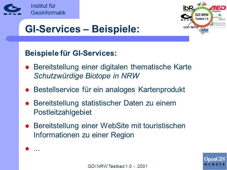 GI-Services – Beispiele: