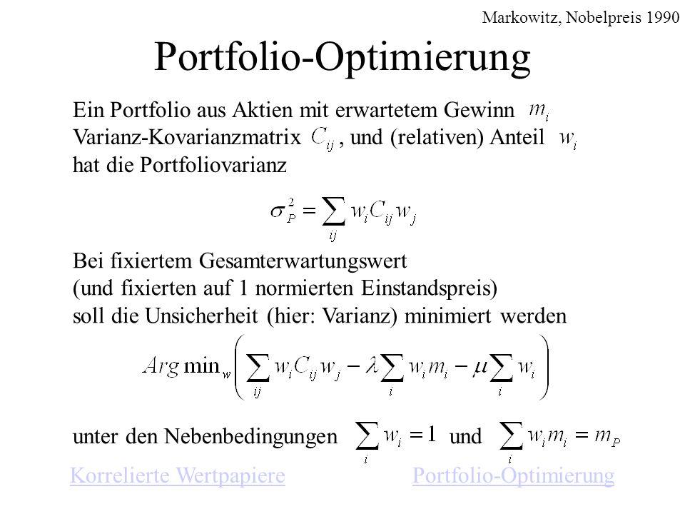 Portfolio-Optimierung