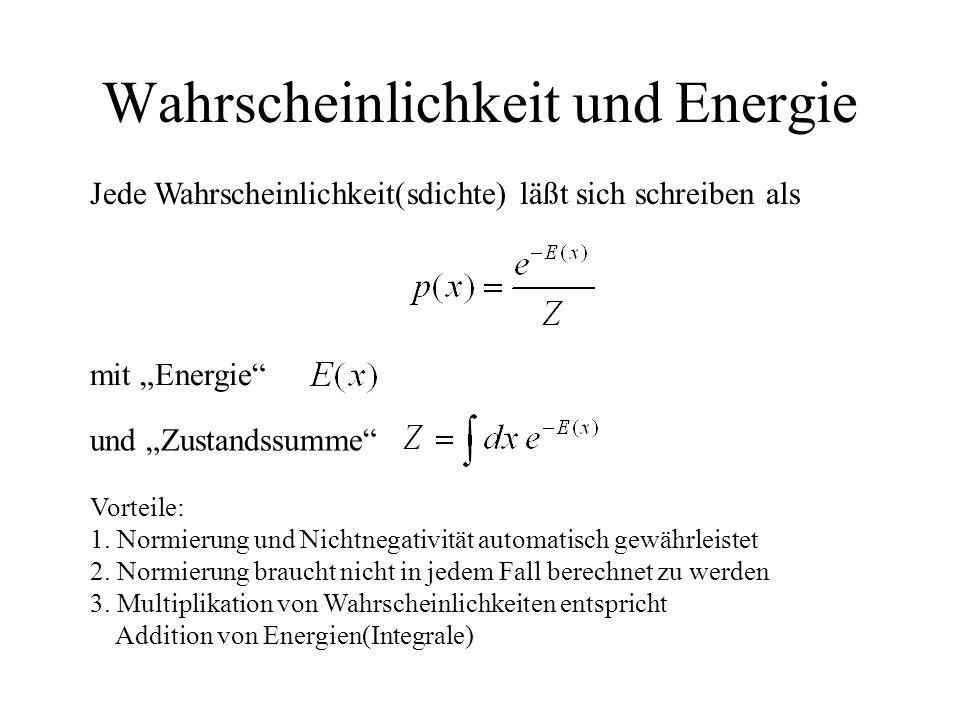 Wahrscheinlichkeit und Energie