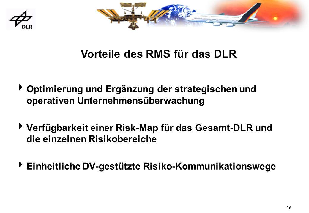 Vorteile des RMS für das DLR