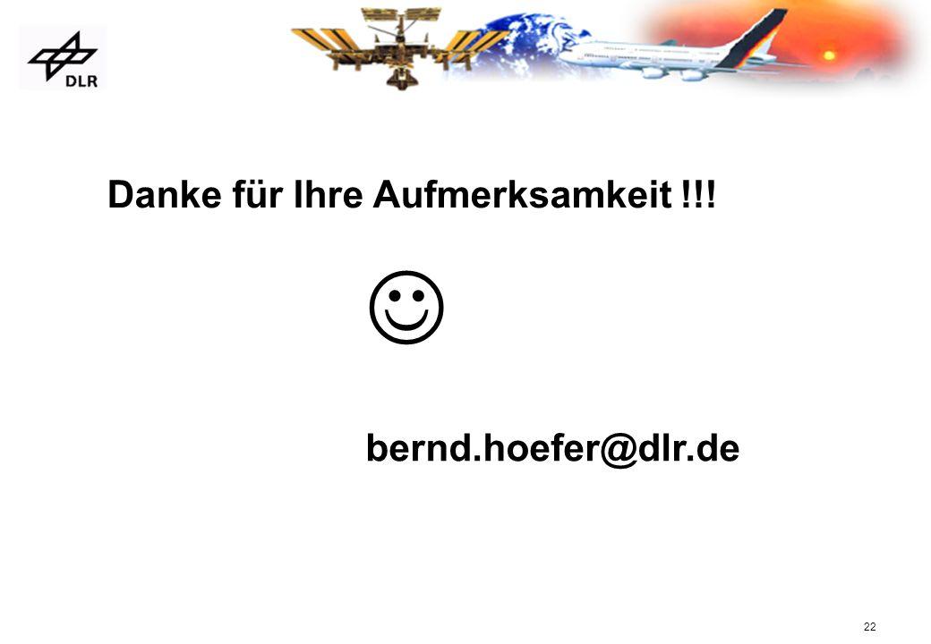 Danke für Ihre Aufmerksamkeit !!!