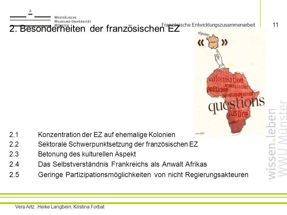 2. Besonderheiten der französischen EZ