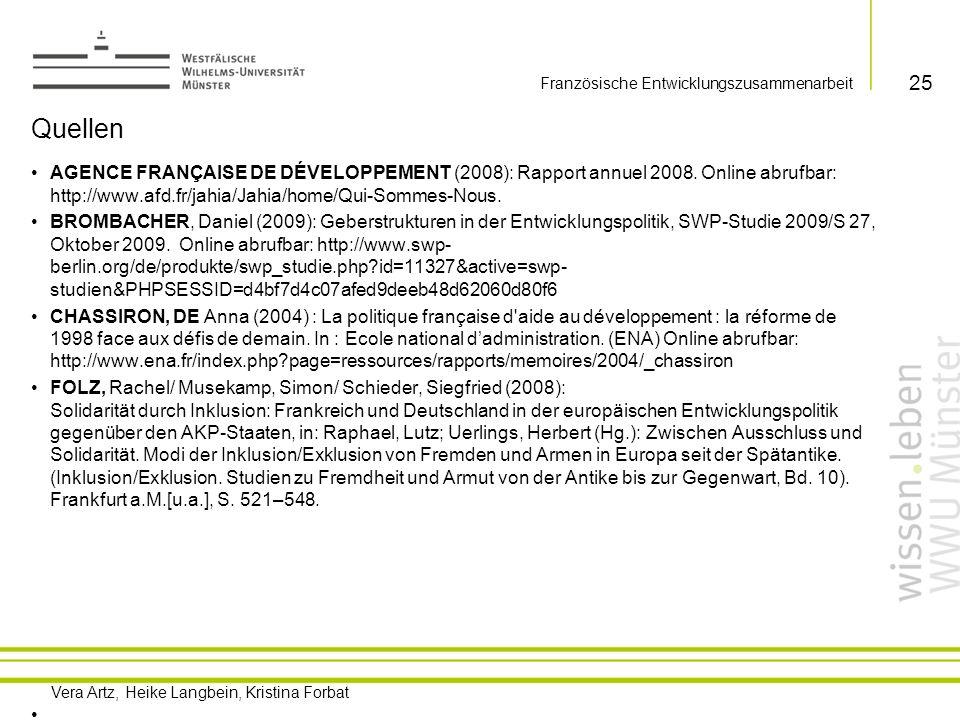 Französische Entwicklungszusammenarbeit