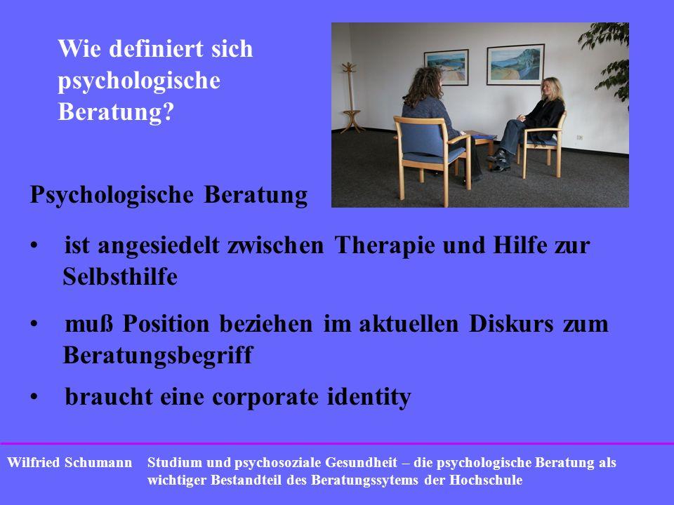 Wie definiert sich psychologische Beratung
