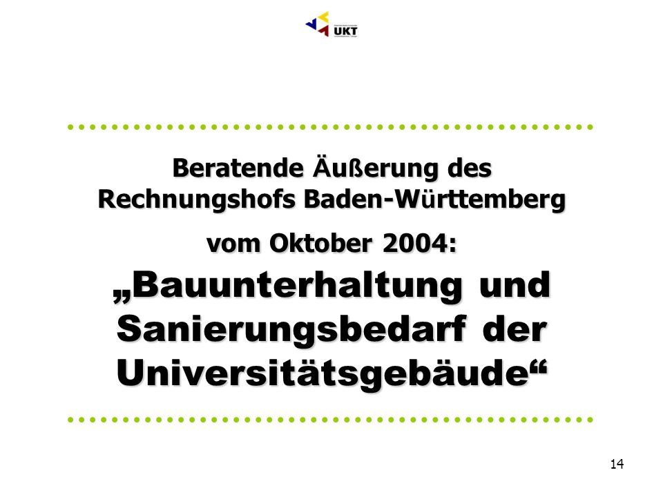 Geschäftsbereich C Bau + Technik Abteilung C1 Bauwesen, Dr. Markus Till