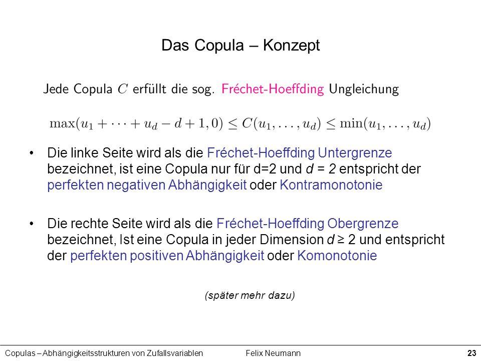 Das Copula – Konzept