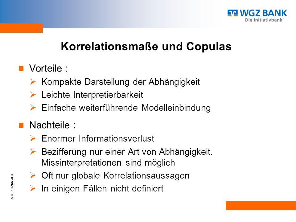 Korrelationsmaße und Copulas