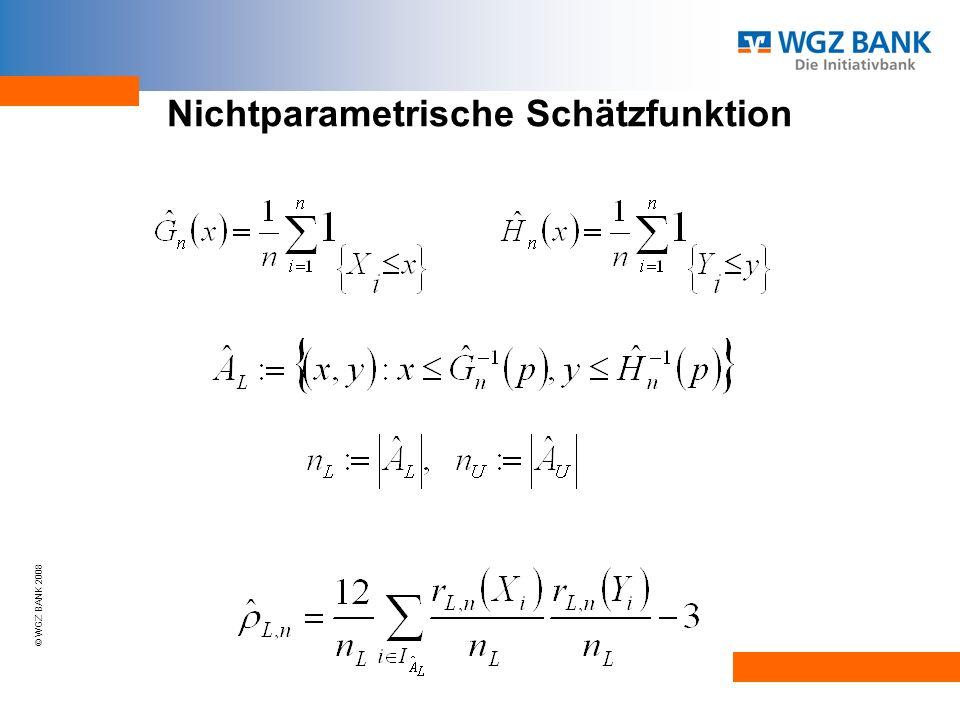 Nichtparametrische Schätzfunktion