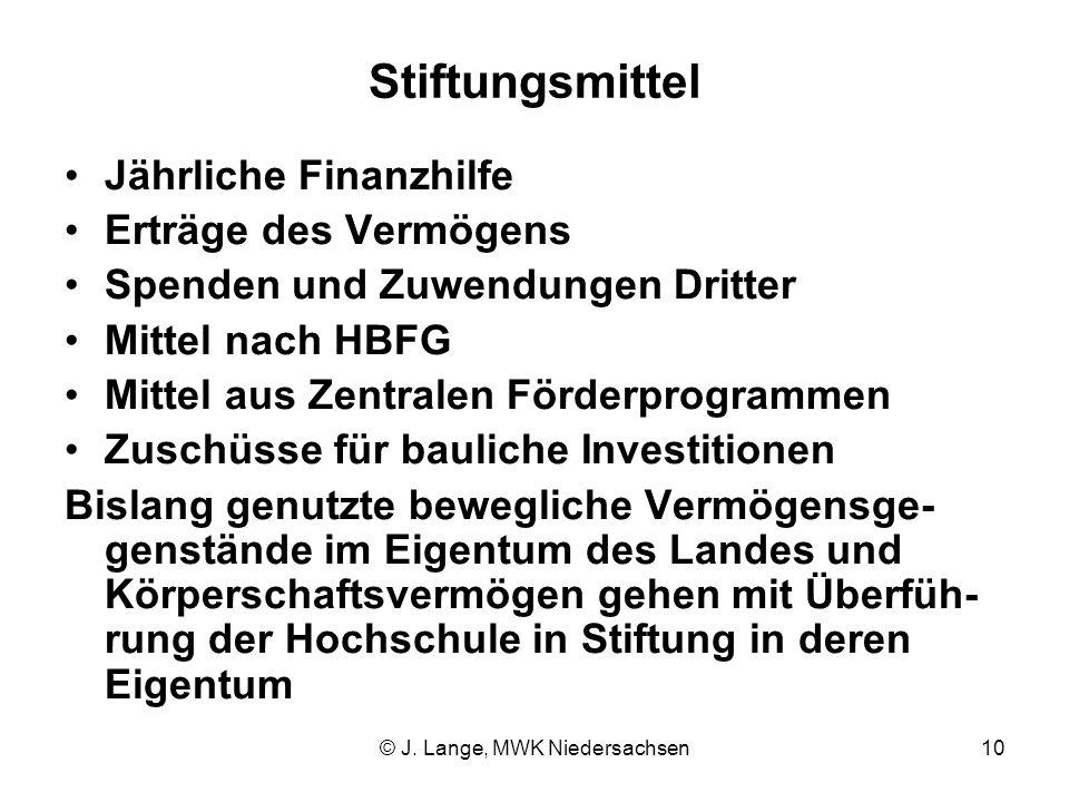 © J. Lange, MWK Niedersachsen