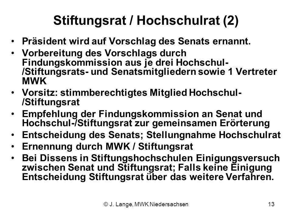 Stiftungsrat / Hochschulrat (2)
