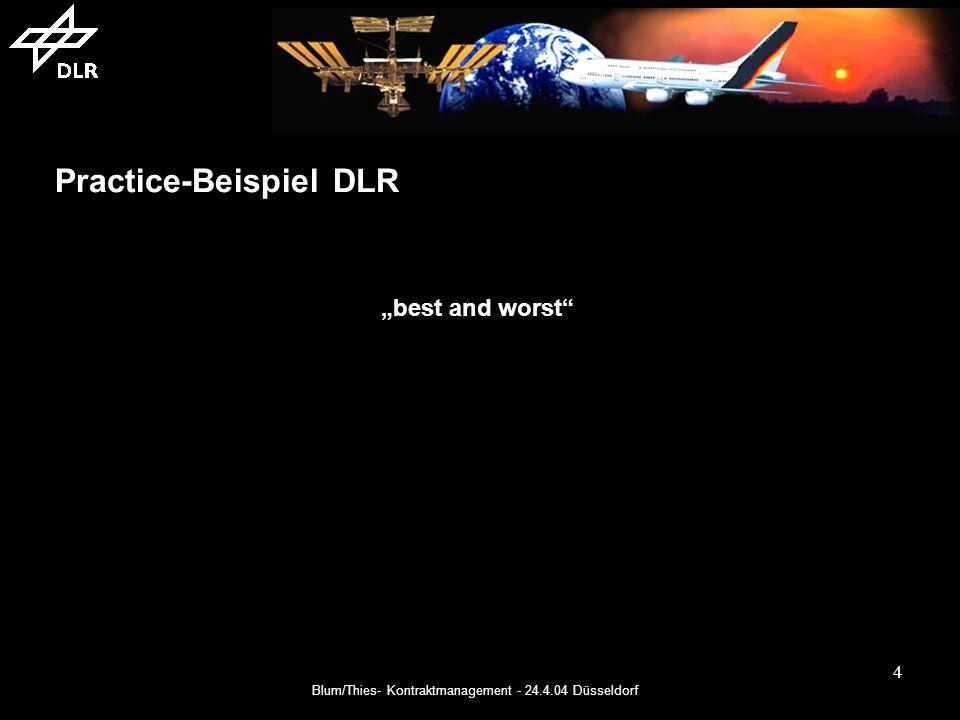 Practice-Beispiel DLR
