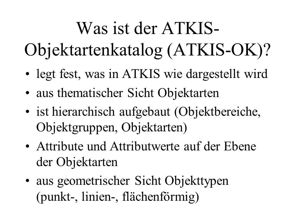 Was ist der ATKIS-Objektartenkatalog (ATKIS-OK)