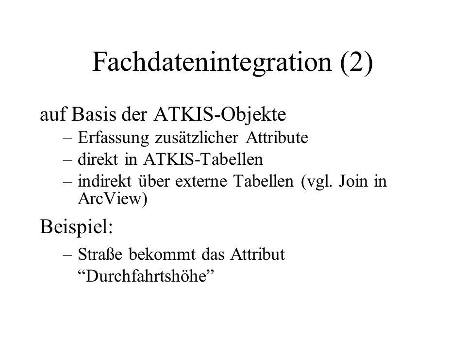 Fachdatenintegration (2)