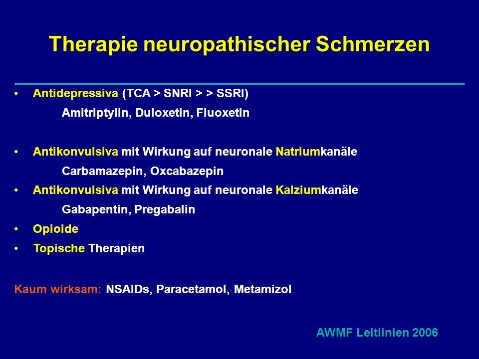 Therapie neuropathischer Schmerzen