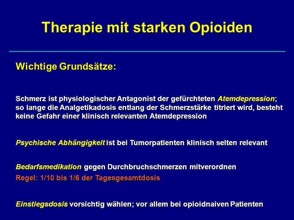 Therapie mit starken Opioiden