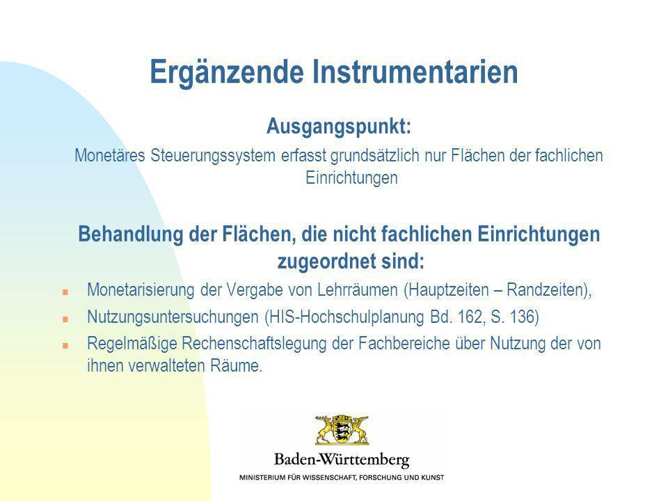 Ergänzende Instrumentarien