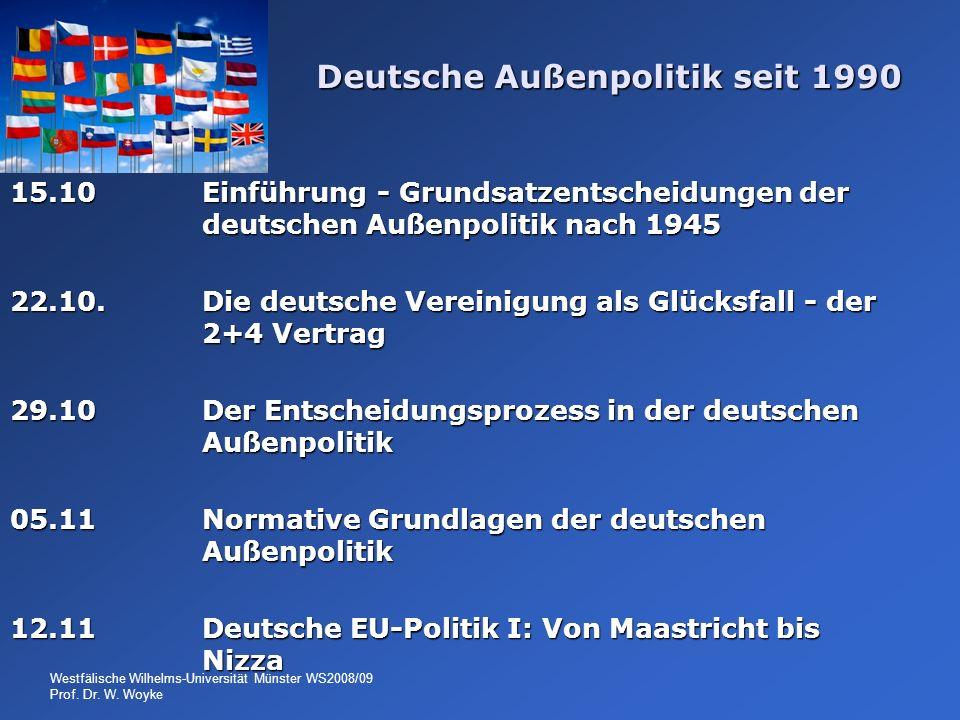 Deutsche Außenpolitik seit 1990