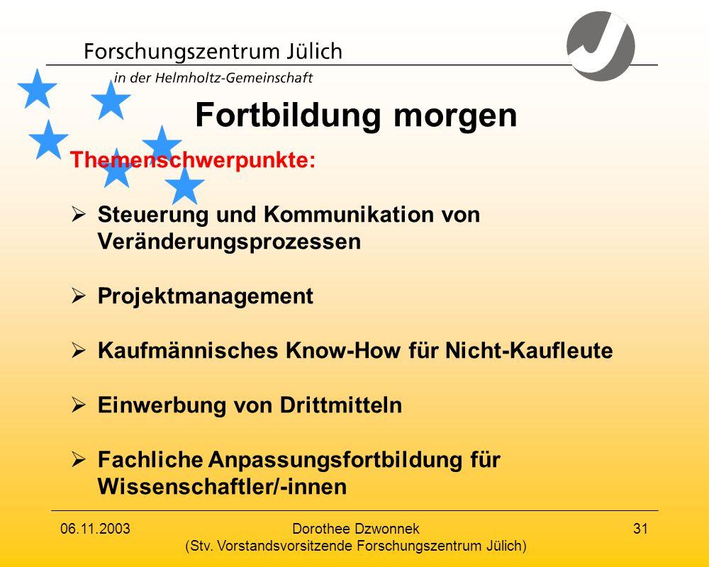 (Stv. Vorstandsvorsitzende Forschungszentrum Jülich)