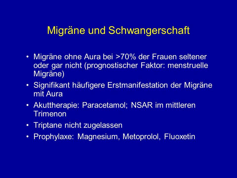 Migräne und Schwangerschaft