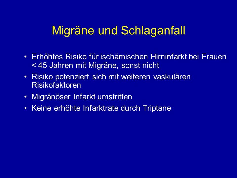 Migräne und Schlaganfall