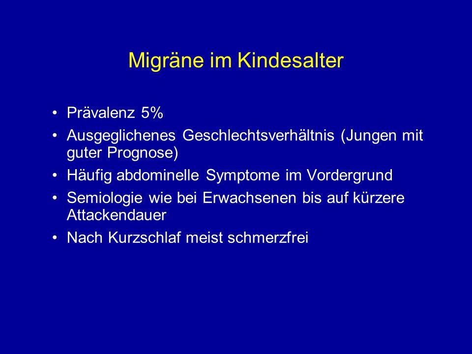 Migräne im Kindesalter