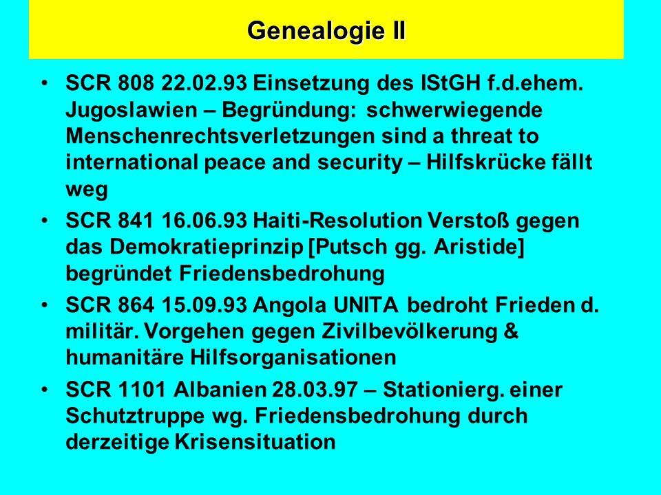 Genealogie II