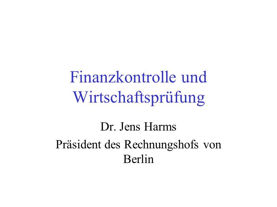 Finanzkontrolle und Wirtschaftsprüfung