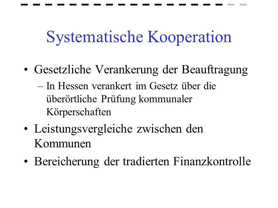 Systematische Kooperation