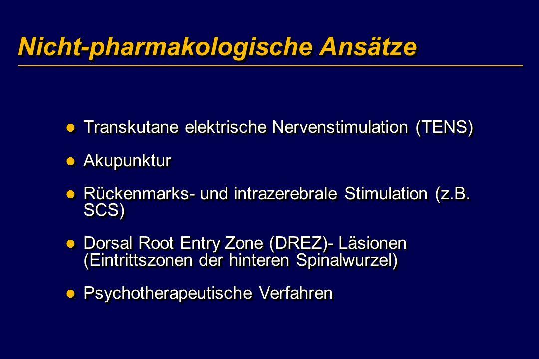 Nicht-pharmakologische Ansätze